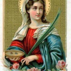 Santa Lucia, la Santa della Luce. Preghiere e Storia