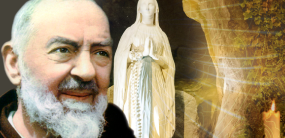 Padre Pio . Coroncina angelica