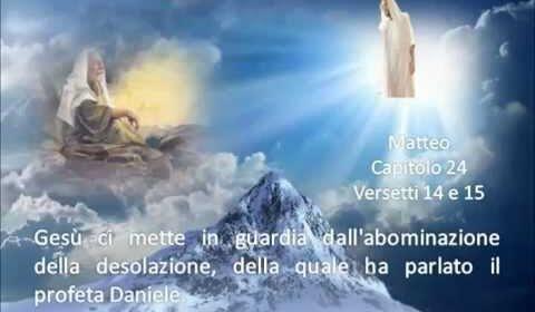 E Gesù disse ai suoi discepoli: «Siate misericordiosi, come il Padre vostro